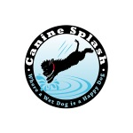 pet business logo design for Canine Splash, LLC