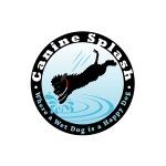 pet business logo design for Canine Splash, LLC