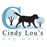 pet business logo design for Cindy Lou's Dog Walks