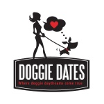 dog walking logo design for Doggie Dates