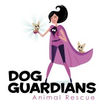pet business logo design Dog Guardians Animal Rescue
