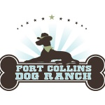 pet business logo design Fort Collins Dog Ranch.