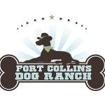 pet business logo design Fort Collins Dog Ranch.
