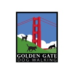 pet business logo design for Golden Gate Dog Walking