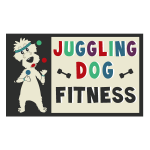 Pet Business Logo Design for Juggling Dog Fitness