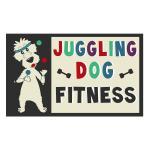 Pet Business Logo Design for Juggling Dog Fitness