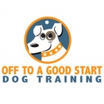pet business logo design for Off To A Good Start Dog Training