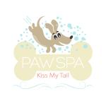 Pet Business logo design for Paw Spa