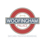 pet daycare logo design for Woofingham Palace