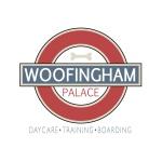 pet daycare logo design for Woofingham Palace