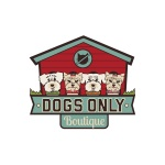 pet business logo design Dogs Only Boutique