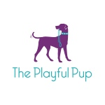 dog care and dog walking logo design for The Playful Pup