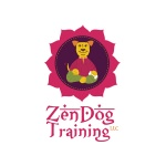 pet business logo design Zen Dog Training