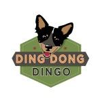 dog training logo design for Ding Dong Dingo