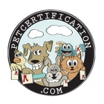 pet business logo design for Pet Care Certification