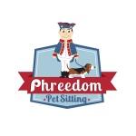 pet sitting logo design for phreedom pet sitting