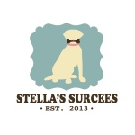 dog treat logo design for Stellas Surcees