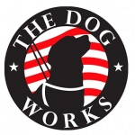 pet business logo design for The Dog Works