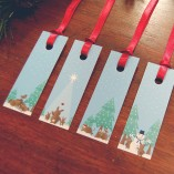 SniffDesign Set Of Christmas Gift Tags